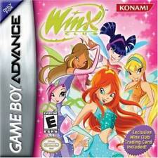 Winx Club GBA New Game Boy Advance