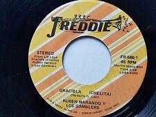 RUBEN NARANJO y LOS GAMBLERS - Graciela (Chelita) / En Mi Propia Cama TEJANO Mex