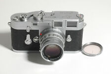 EXC+!! LEICA M3 Single Stroke w SUMMICRON 5cm f2 Lens-Very Clean  #9193