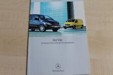 160774) Mercedes Vito - Kasten & Kombi & Personentransport - Prospekt 06/2004
