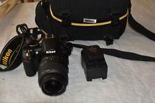 Nikon D3100 14.2MP Digital SLR Camera - Black NIKON DX AF-S NIKKOR 18-55mm LENS
