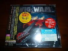 Wig Wam / Non Stop Rock 'n' Roll JAPAN+1 w/Sticker NEW!!!!!!!!!! A3