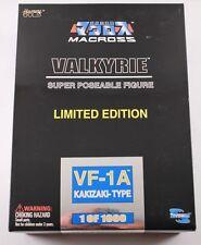 Macross Valkyrie VF-1A KAKIZAKI-TYPE Super Poseable Limited Edition Sealed