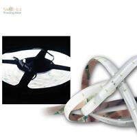 SMD LED Banda De Luz 4 , 8m Blanco Fría 12v DC Tira Flexible barra tiras,