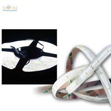 SMD LED Lichtband 4,8m kaltweiß 12V DC Stripe flexibel Lichtleiste Streifen Band