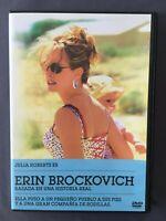 DVD ERIN BROCKOVICH Julia Roberts Albert Finney Aaron Eckhart  STEVEN SODERBERGH