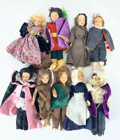 Lot Of 9 1950s Vintage VTG Play Dolls