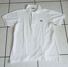 Lacoste camiseta polo talla s sudadera hombre blanco T-Shirt Polo de lujo elegante