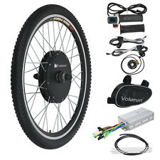 "1000W Electric Bicycle Motor Conversion Kit 26"" Front Wheel Bike Cycling Hub 48V"