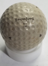 VINTAGE BROMFORD 12 P.G.A. GOLF BALL - 1927 - VERY GOOD CONDITION NOW ONLY $115
