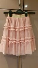 Mini Boden Pink Girls Skirt Age 7-8 Excellent Condition