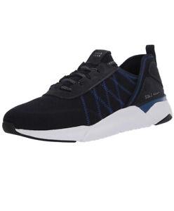 Men Cole Haan GrandSport Knit Trainer Shoes Sneaker True Blue/Optic White C31440