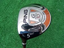 Ping Golf G10 5 Fairway Wood 18.5 Graphite Soft Regular Flex Shaft LEFT HAND LH