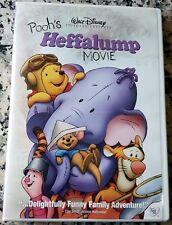 POOH'S HEFFALUMP MOVIE VERY RARE Walt Disney DVD Winnie Lumpy Genuine USA