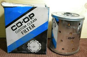 5 Coop PL4P NOS Oil Filter, Baldwin P41, 46-56 FORD-MERCURY-LINCOLN STUDEBAKER