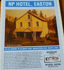 Builders In Scale HO NP Hotel, Easton (Building Kit) Craftsman