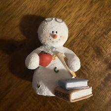 """Sarah's Attic Snowman #7664 """"Home Work�, Fall, Edition: 1E, Pc: 0491"""