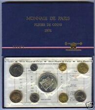 Boîtiers FDC, BU, BE de pièces de monnaie françaises 50 francs qualité FDC
