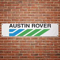 Austin Rover Banner Garage Workshop PVC Sign Trackside Car Display