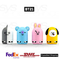 BTS BT21 Official Authentic Goods Friends Duo Bluetooth Speaker + Figure 4Type