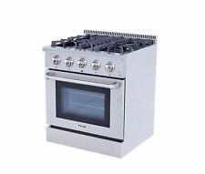 """30"""" Gas Hob Gas Cooktop 4 Burners Built-In Stove 4.2 Cu.Ft Oven Cooktop Kitchen"""