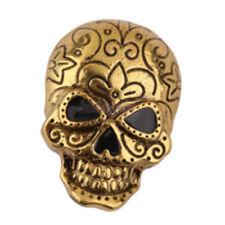 Gothic Punk Halloween Vintage Retro Skull Skeleton Brooch Pin Decor Jewelry J8X0