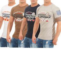 Geographical Norway Jarbone T-Shirt Herren Shirt Hemd Sommer Baumwolle NEU S-3XL