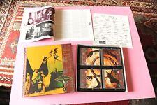 KING CRIMSON BOX 4 CD ORIG 1991 NM THE ESSENTIAL FRAME BY FRAME
