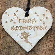 Fairy Godmother Wooden Plaque Gift LPA3-102