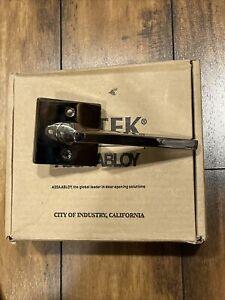 Emtek Assa Abloy 5210HL0LHUS14 Helios Lever With Square Rossette privacy