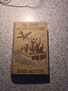 1954 The Ship Of Adventure Enid Blyton RARE find