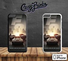 Fast Fate Of The Furious Never Give Up Hard Case Cover for all iPhone Models C92