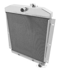 For 1947 1948 1949 1950 1951 1952 1953 1954 Chevy Truck 4 Row Racing Radiator