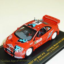 IXO 1:43 Peugeot 307 WRC #16 Monte Carlo 2006 Gardemeister/Honkanen RAM211