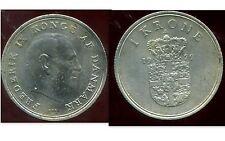 DANEMARK   1 krone  1972  ( bis )