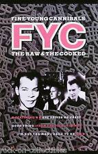 Fine Young Cannibals 1989 The Raw & The Cooked Original Promo Poster