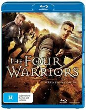 The Four Warriors - Phil Hawkins NEW B Region Blu Ray
