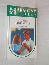 TUTTO COME PRIMA Lilian Peake Harlequin Mondadori 1992 harmony jolly 1992 libro