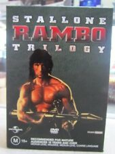 The Rambo Collection (DVD, 2004, 3-Disc Set)  147839