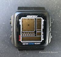 (P/R) AQUATECH 13343 Multifunction Analog/Digital 36mm watch - Not Working
