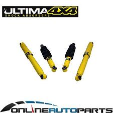 4 Front & Rear Gas Shock Absorbers Holden Rodeo R7 R9 RA V6 Only 6/1988-2/2003