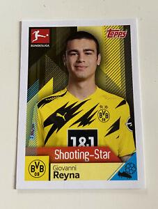 Topps Bundesliga Sticker 2020/2021 -  Giovanni Reyna Rookie Nr. 121
