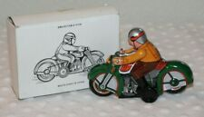 Vintage Tin Wind Up Toy Motorcycle ~RARE~ MS275 Collectable Antique Toy - No Key