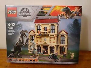 Lego Jurassic world Indoraptor Rampage At lockwood estate 75930 100% Complete