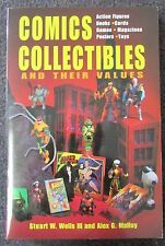 COMICS COLLECTIBLES AND THEIR VALUES PB BOOK BY WELLS & MALLOY 1996