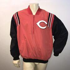 VTG Cincinnati Reds ZIP UP Jacket Windbreaker by Majestic Authentic Sz L MENS