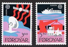 Faroe Islands: Europa - Transport & Commun'ns; complete unmounted mint (MNH) set