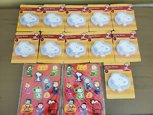 2012 Peanuts - Snoopy 11 packs STICKY NOTES & 2 packs of magnets.