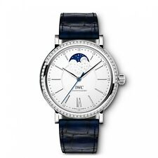 New IWC Portofino Automatic Moonphase Stainless Steel Automatic Watch IW459008