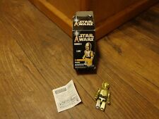 """2004 MEDICOM TOYS--KUBRICK--2.5"""" STAR WARS C3PO FIGURE (LOOK)"""
